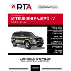 E-RTA Mitsubishi Pajero IV BREAK 5 portes de 01/2007 à 12/2011