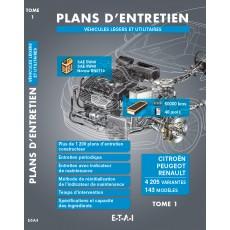 PLANS D'ENTRETIEN - TOME 1