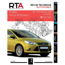 RTA 829 FORD FOCUS III Phase 1 (2011 à 2015)