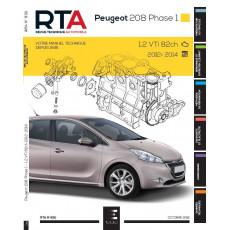 RTA 830 PEUGEOT 208 I PHASE 1 (2012 à 2015) - Essence