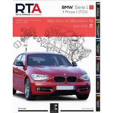 RTA 832 BMW SERIE 1 II PHASE 1 (F20/F21) (2011 à 2015)
