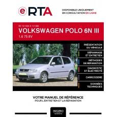 E-RTA Volkswagen Polo III HAYON 3 portes de 10/1994 à 11/1999
