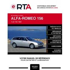 E-RTA Alfa-romeo 156 BREAK 5 portes de 04/2000 à 12/2001