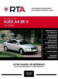 E-RTA Audi A4 II BERLINE 4 portes de 01/2001 à 11/2004