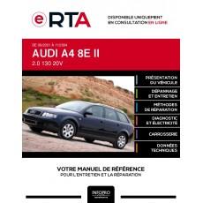 E-RTA Audi A4 II BREAK 5 portes de 09/2001 à 11/2004