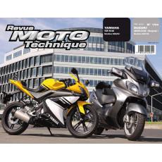 RMT 154.1 Suzuki 650 Burgman et Yamaha YZF R125