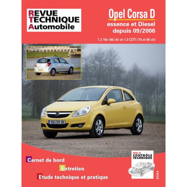 Revue Technique Opel corsa 2