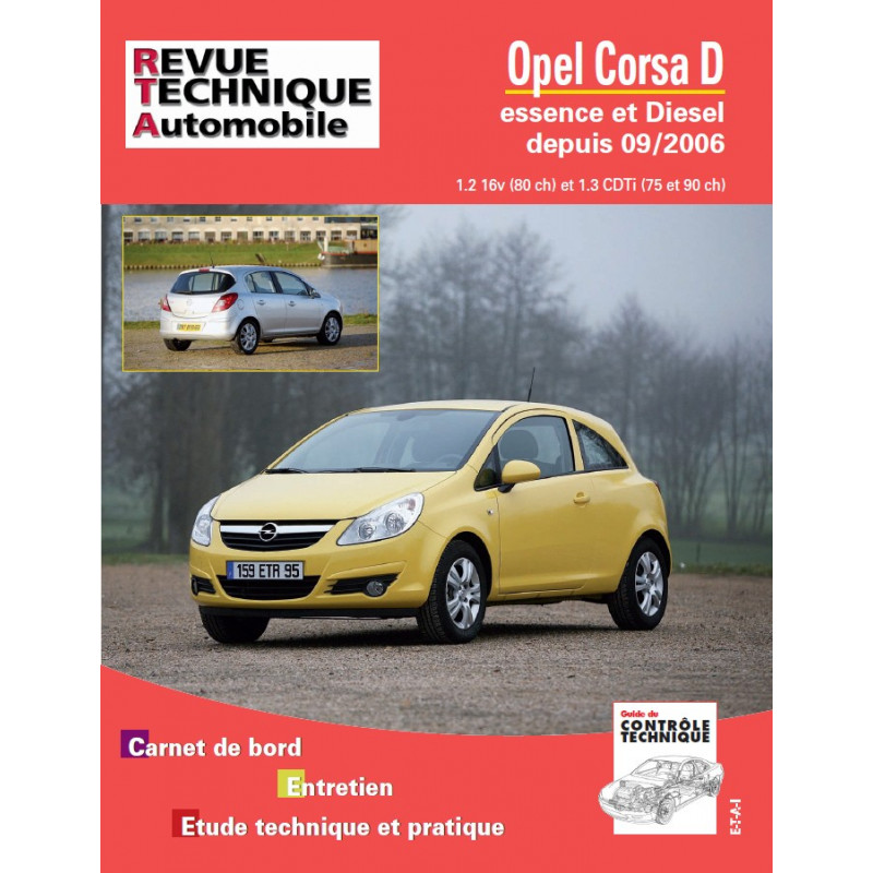 revue technique opel corsa rta site officiel etai. Black Bedroom Furniture Sets. Home Design Ideas