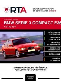 E-RTA Bmw Serie 3 compact III HAYON 3 portes de 03/1994 à 12/2000