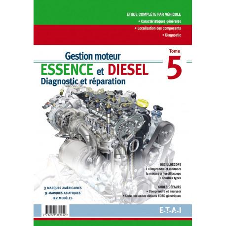 Gestion moteur essence diesel moteur us\asie tome 5