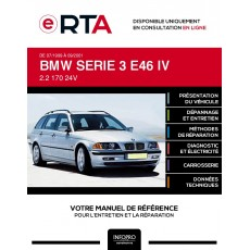 E-RTA Bmw Serie 3 IV BREAK 5 portes de 07/1999 à 09/2001