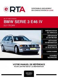 E-RTA Bmw Serie 3 IV BREAK 5 portes de 07/1999 à 09/2001