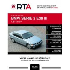 E-RTA Bmw Serie 3 III COUPE 2 portes de 02/1992 à 04/1999
