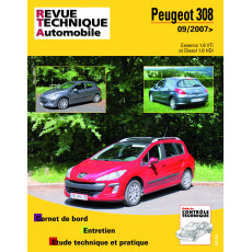 Revue Technique Automobile Peugeot 308 I