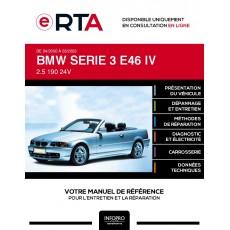 E-RTA Bmw Serie 3 IV CABRIOLET 2 portes de 04/2000 à 03/2003