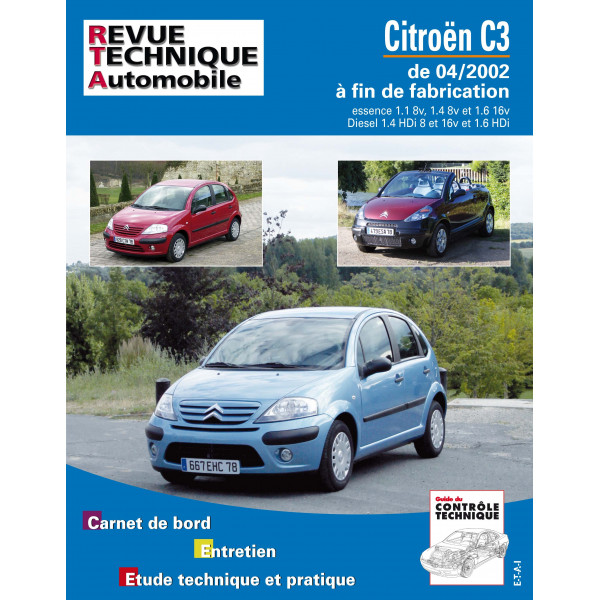 Revue Technique Citroen c3