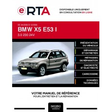 E-RTA Bmw X5 I BREAK 5 portes de 04/2000 à 12/2006