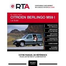 E-RTA Citroen Berlingo I BREAK 5 portes de 11/2002 à 10/2010