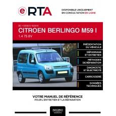 E-RTA Citroen Berlingo I BREAK 4 portes de 11/2002 à 10/2010