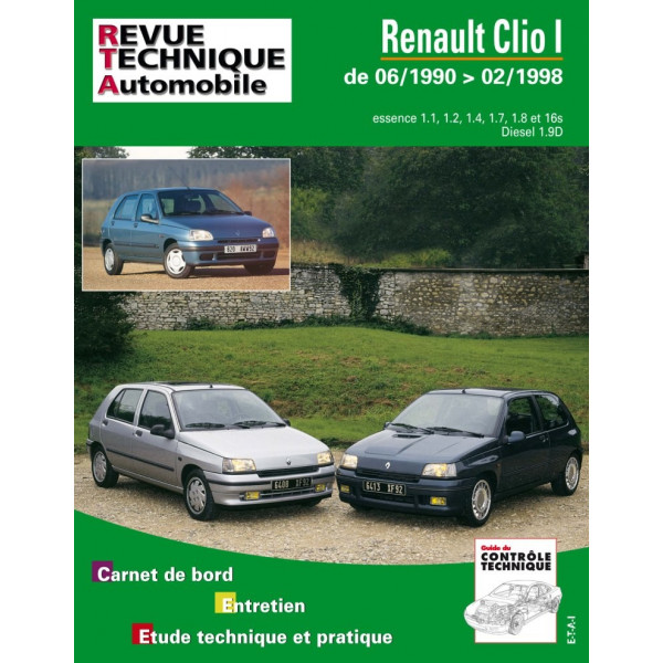 renault revue technique automobile pour entretien. Black Bedroom Furniture Sets. Home Design Ideas
