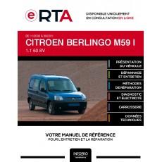 E-RTA Citroen Berlingo I FOURGON 4 portes de 11/2002 à 09/2011