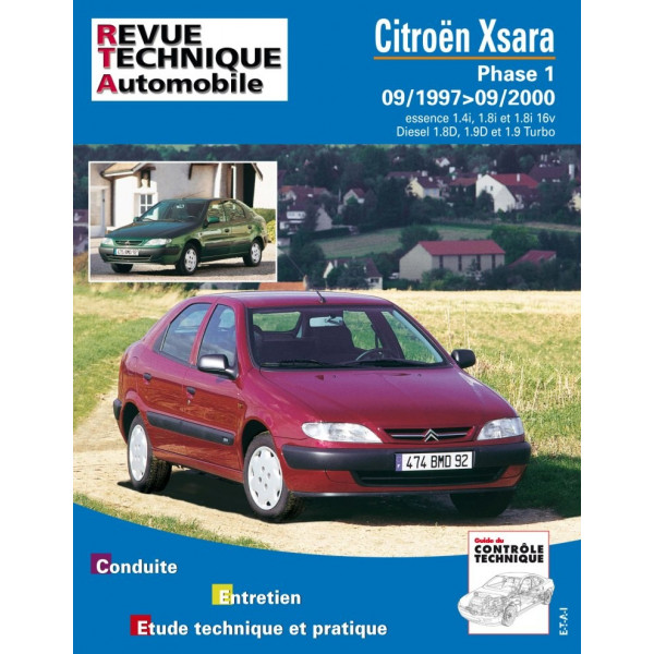 Revue Technique Citroen xsara