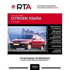 E-RTA Citroen Xsara HAYON 5 portes de 09/1997 à 09/2000