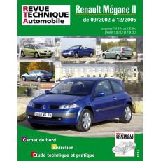 RTA 121 RENAULT MEGANE II PHASE 1 (2002 à 2005)