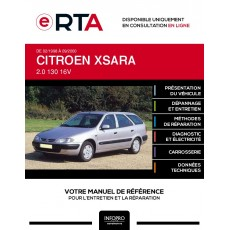 E-RTA Citroen Xsara BREAK 5 portes de 02/1998 à 09/2000