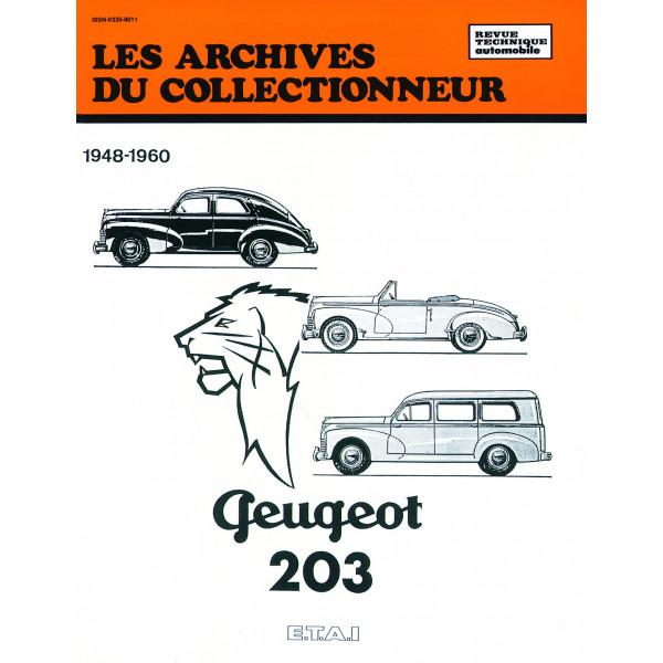 Revue Technique Peugeot 203