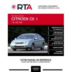 E-RTA Citroen C5 I HAYON 5 portes de 03/2001 à 09/2004