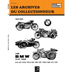 BMW FLAT TWIN R 12 A R 75 (1935/1954) - Les Archives du Collectionneur n° 101