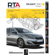 RTA 833 PEUGEOT 308 II PHASE 1 (2014 à 2017)