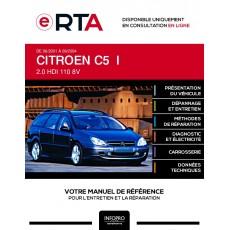 E-RTA Citroen C5 I BREAK 5 portes de 06/2001 à 09/2004