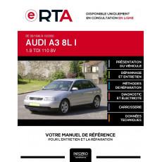 E-RTA Audi A3 I HAYON 5 portes de 09/1996 à 10/2000