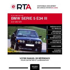 E-RTA Bmw Serie 5 III BERLINE 4 portes de 02/1988 à 06/1994