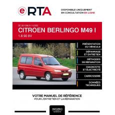 E-RTA Citroen Berlingo I BREAK 3 portes de 09/1996 à 11/2002