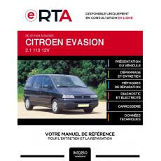 E-RTA Citroen Evasion MONOSPACE 5 portes de 07/1994 à 09/2002