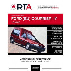 E-RTA Ford (eu) Courrier IV BREAK 3 portes de 10/1996 à 04/2000