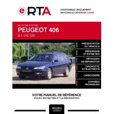 E-RTA Peugeot 406 BREAK 5 portes de 10/1996 à 04/1999