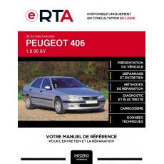 E-RTA Peugeot 406 BERLINE 4 portes de 04/1999 à 04/2004