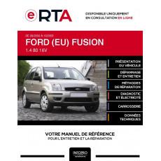 E-RTA Ford (eu) Fusion HAYON 5 portes de 09/2002 à 10/2005