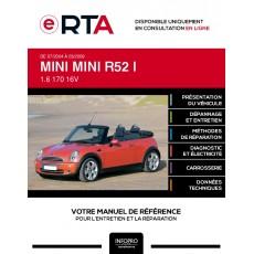 E-RTA Mini Mini I CABRIOLET 2 portes de 07/2004 à 03/2009