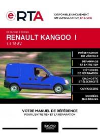 E-RTA Renault Kangoo I FOURGON 5 portes de 09/1997 à 03/2003