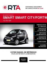 E-RTA Smart Smart city/fortwo II HAYON 3 portes de 04/2007 à 03/2015