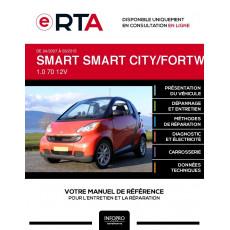 E-RTA Smart Smart city/fortwo II CABRIOLET 2 portes de 04/2007 à 03/2015