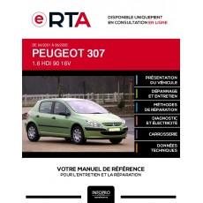 E-RTA Peugeot 307 HAYON 5 portes de 04/2001 à 06/2005
