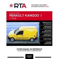 E-RTA Renault Kangoo I FOURGON 4 portes de 09/1997 à 03/2003