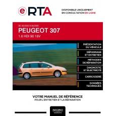 E-RTA Peugeot 307 BREAK 5 portes de 05/2002 à 06/2005