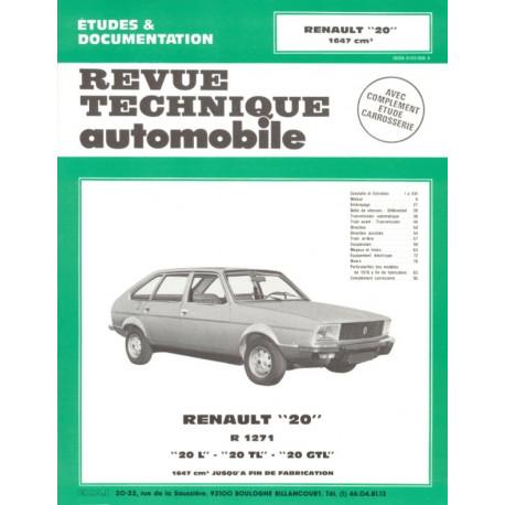 RENAULT 20 L TL et GTL